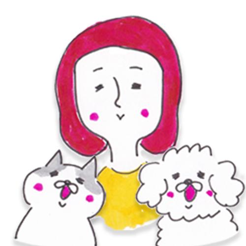 動物をこよなく愛する。夫と娘の3人と犬猫・陸亀と楽しく暮らす。